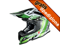 Casco JUST1 J12 Flame Green/Black