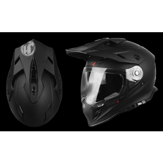 7f0d852d Casco JUST1 J34 Enduro SOLID Black Matt Just1