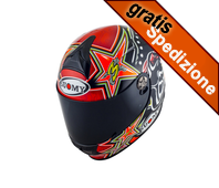 Casco SR SPORT BIAGGI REPLICA 2015 Red Suomy
