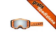 Maschera MX JUST1 Iris Neon Black/Orange