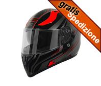 Casco Origine - STRADA GRAVITER Black/Red
