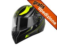 Casco Origine - STRADA GRAVITER Black/Yellow