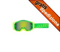 Maschera MX JUST1 Iris Neon Green/Yellow