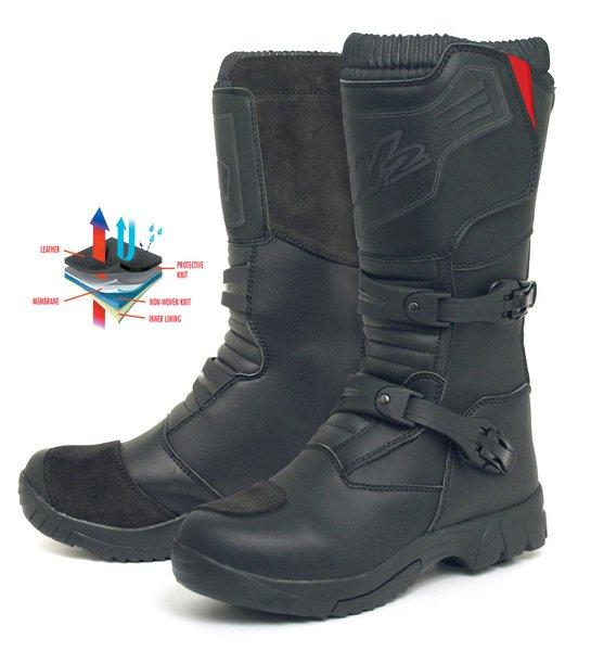 396abc8ba6d5a Stivali MX-Enduro TT ADVENTURE Nero W2 BOOTS